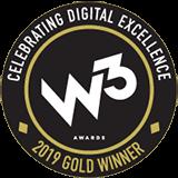 W3 Awards 2019 Gold Winner
