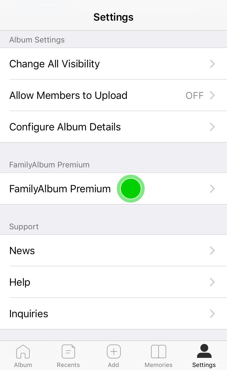 Help | Share Photos & Videos - FamilyAlbum